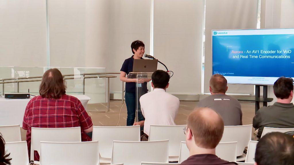 Zoe Liu Visionular Aurora1 AV1 ML presentation at BAV
