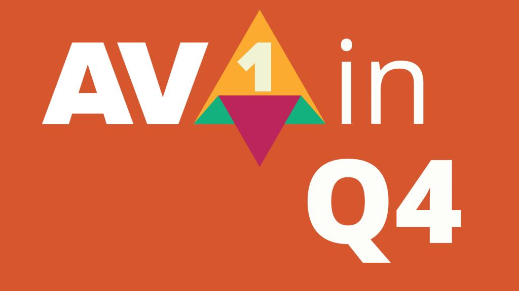 Big Q4 for AV1