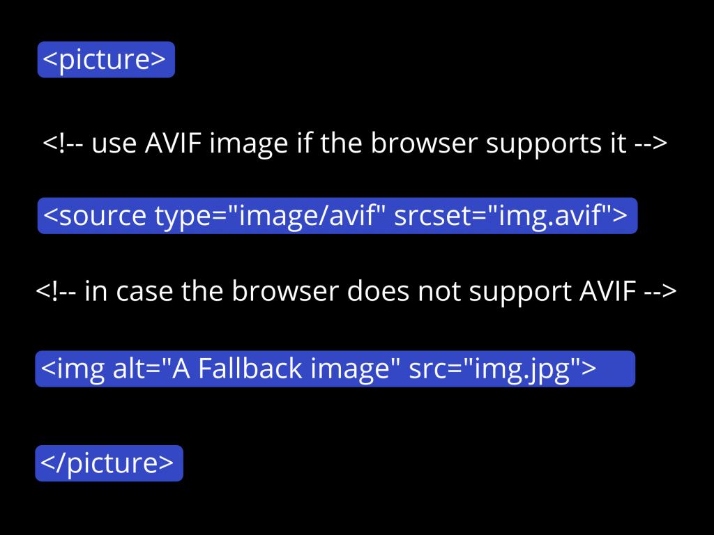 Exploring the AV1 Image Format AVIF